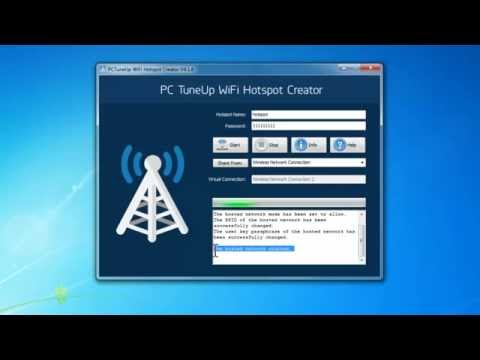 How to Create WiFi Hotspot with Free WiFi Hotspot Creator Software
