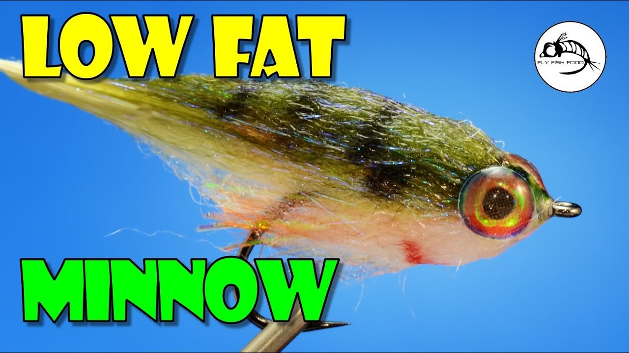 Cheech 39 s low fat minnow from fly fish food youtube for Is fish high in cholesterol