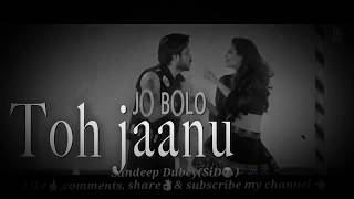 keh du tumhe ya chup rahu BLACK & WHITE  lyrics remix badshaho