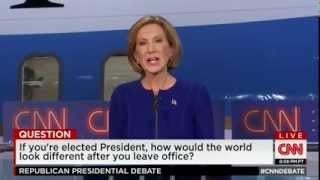 CNN Debate: Carly