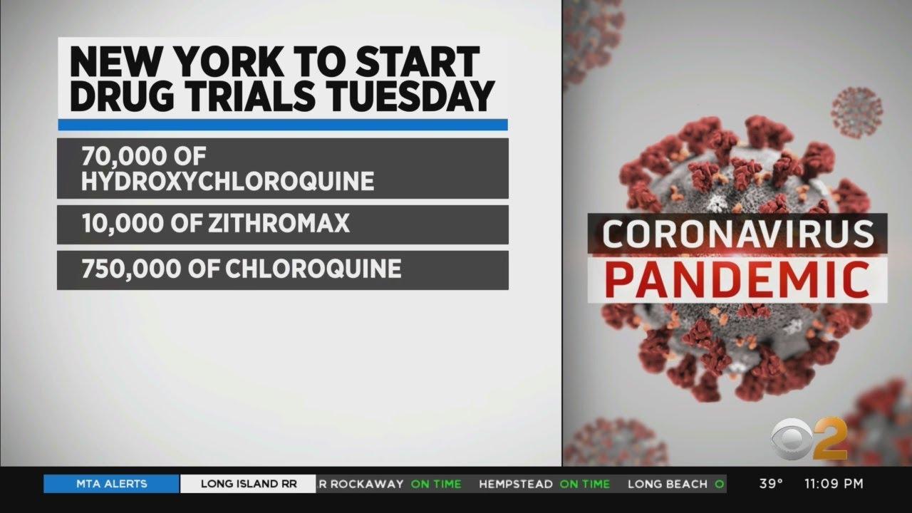 N.Y. To Start Clinical Drug Trial On Coronavirus Treatment
