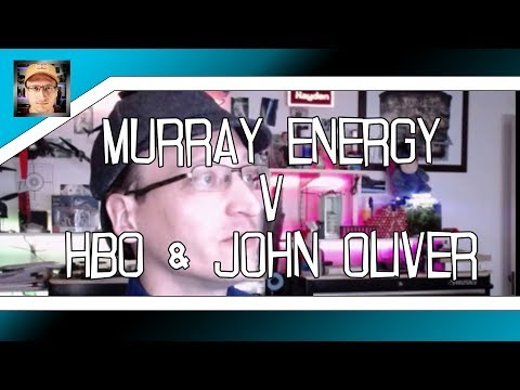 Murray Energy sues HBO over John Oliver Last Week Tonight Exposé