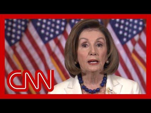 Watch full video of Nancy Pelosi's impeachment statement