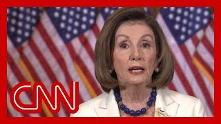 Watch full video of Nancy Pelosi's impeachment statement