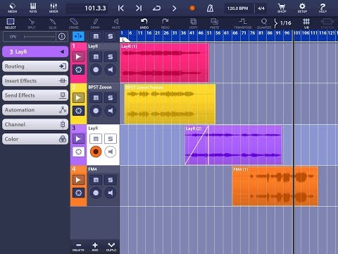 Let Compose In The Style Of Vangelis And Blade Runner Tutorial for the ipad