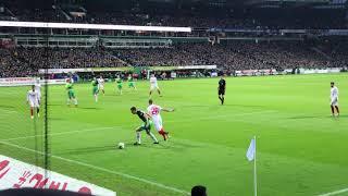 2019-02-10 SV Werder Bremen - FC Augsburg 4-0 - Tor Kevin Möhwald
