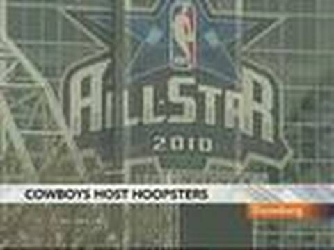 Cowboys Stadium Hosts Over 100,000 for NBA All-Star Game: Video