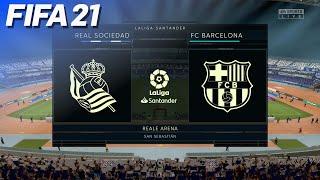 FIFA 21 - Real Sociedad Vs. FC Barcelona | PS5