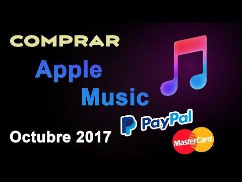 Guía para Contratar Apple Music |Octubre 2017| - Paso a paso. PayPal