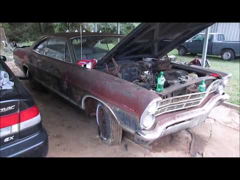 """1967 FORD GALAXIE 500 RESCUE!  """"First start after 25 years"""" Mp3"""