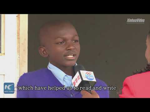 """""""One day we want to become like the Chinese"""": students in Kenya's slum school"""