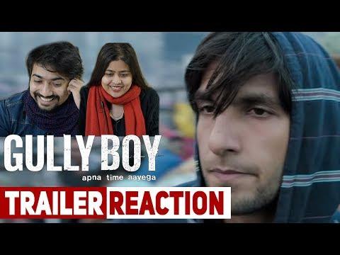 Gully Boy  Trailer Reaction  Ranveer Singh  Alia Bhatt  Zoya Akhtar