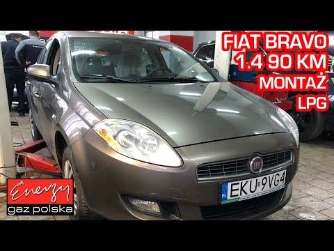 Montaż LPG Fiat Bravo z 1.4 90 KM 2008r w Energy Gaz Polska na gaz BRC Sequent 32