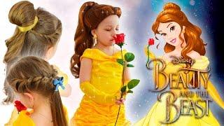 БЕЛЛЬ КОСПЛЕЙ, МАКИЯЖ И ПРИЧЕСКИ Принцесса Белль в РЕАЛЬНОЙ ЖИЗНИ КРАСАВИЦА И ЧУДОВИЩЕ