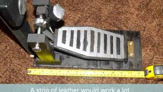 How to make a homemade bass pedal for a Yamaha DD-65