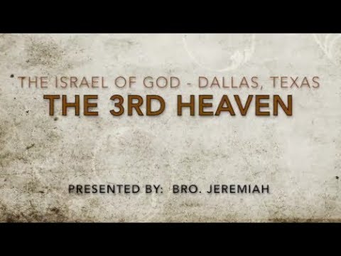 """IOG Dallas - """"The 3rd Heaven"""""""