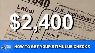 How to make sure you get your stimulus check  WLOS News Daily Digest