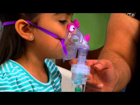 Helping Your Child Use a Nebulizer Machine