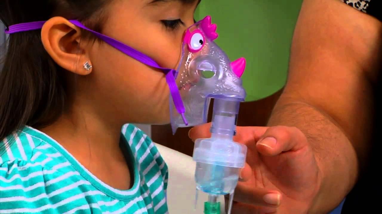 Helping Your Child Use A Nebulizer Machine Youtube