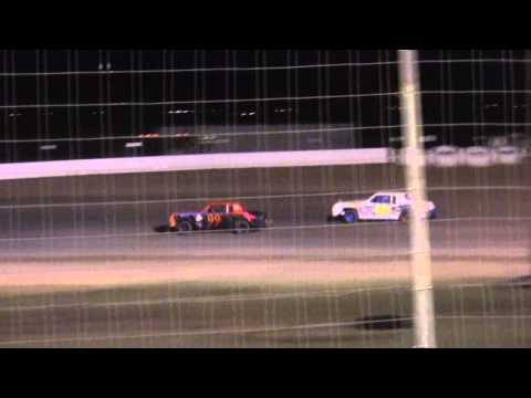 Hobby - Pure Main at Lubbock Speedway 4-19-13