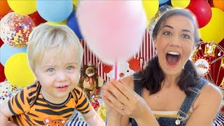 WE TURNED OUR BACKYARD INTO A CARNIVAL!