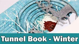 Tunnel Book - Winter