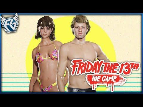 Český GamePlay   Friday the 13th: The Game #31 - Krásný Chad