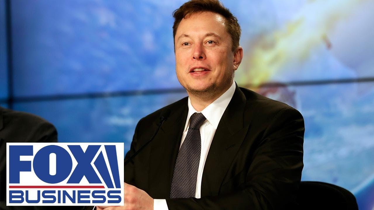 Tesla CEO Elon Musk calls for the breakup of Amazon