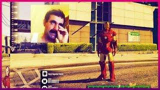 Tam Bİr Kirosun Iron Man   Gta 5 Türkçe Eğlenceli Anlar