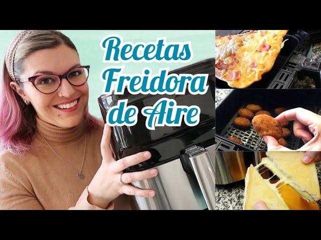 RECETAS FREIDORA DE AIRE *Cómo usar la Freidora de Aire* FREIR SIN ACEITE