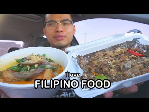 I LOVE FILIPINO FOOD *MUKBANG