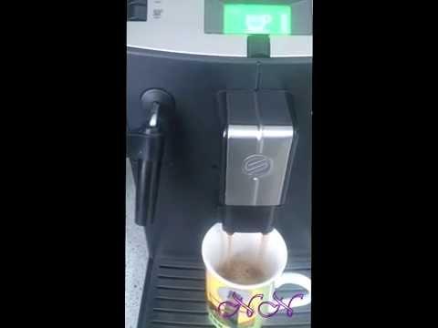 Программирование кофе машины Saeco lirika на большую порцию кофе