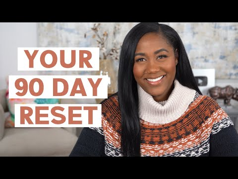 Reset Your Life for 2021 | Setting 90 Day Goals