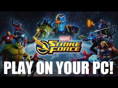 How To Play On Your PC/Laptop!  - Marvel Strike Force