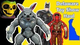 Delaware Toy Show Haul - Action Figure Adventures