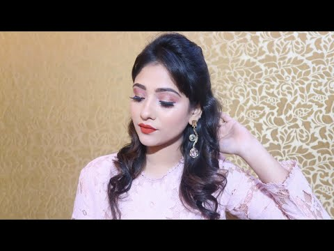 Rosegold 🍑 Pink Makeup || Wedding Guest Makeup