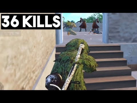 SNEAK ATTACK ON FULL SQUAD | 36 KILLS Duo vs Squad | PUBG Mobile
