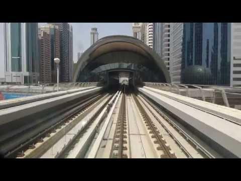 Dubai Metro Cabride to Emirates Towers station