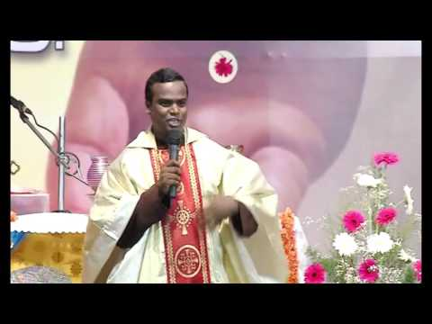 Fr. Doss,Cap  Roman Catholic Tamil Sermon on Easter