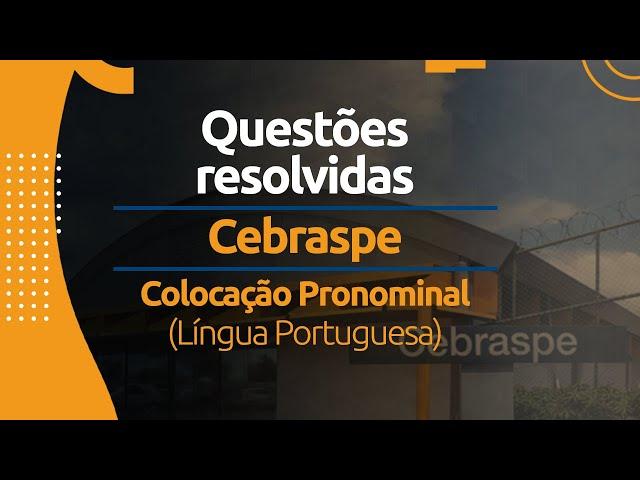 Colocação Pronominal - Língua Portuguesa