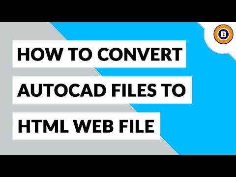 Convert AutoCAD DWG To HTML And Open DWG File In Chrome, Firefox, Etc.