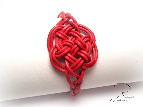 How to make the Celtic knot of eternal love to a bracelet