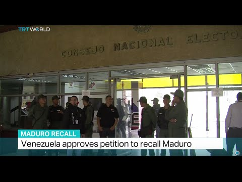 Venezuela approves petition to recall Maduro