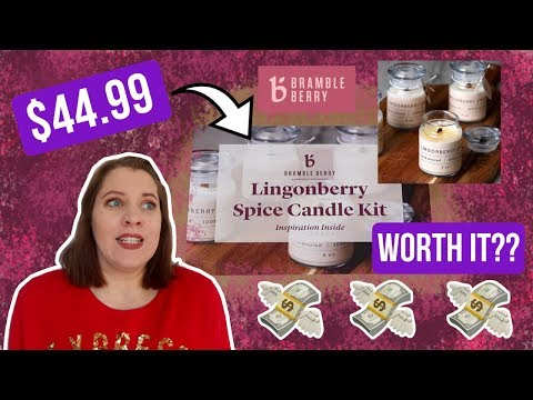 Worth the Money?! Testing a Professional Candle Kit | Royalty Soaps