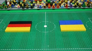 Lego Film #9: UEFA EURO 2016 Germany - Ukraine