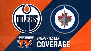 ARCHIVE | Post-Game Coverage: Oilers at Jets