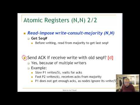 Lecture 8. Unit 6. Multiple Writers algorithm