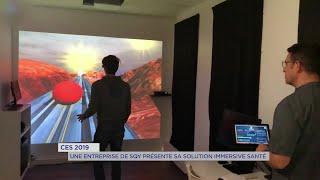 Yvelines | CES 2019 : Une entreprise de SQY présente sa solution immersive santé