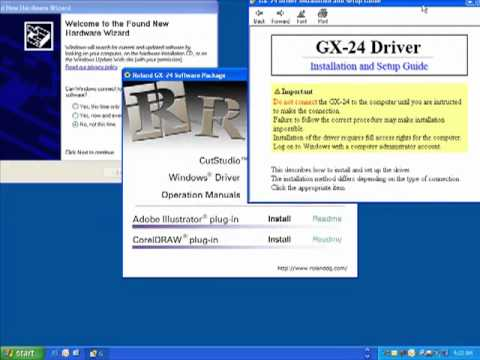 Roland CutStudio Software for Windows