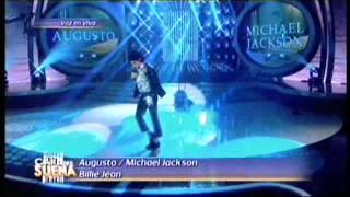 Augusto Schuster es Michael Jacson en Tu cara me suena